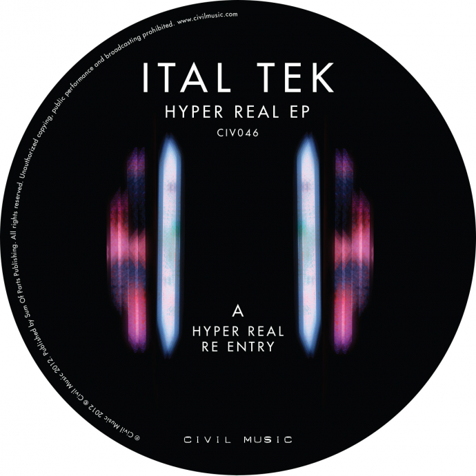 Ital Tek - Hyper Real Label A